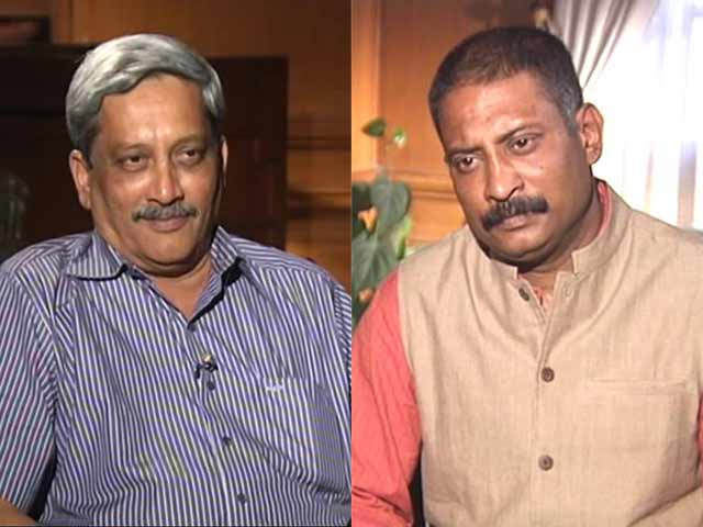 Video : Agusta Scam Reflects Same Hierarchy As Bofors: Defence Minister To NDTV