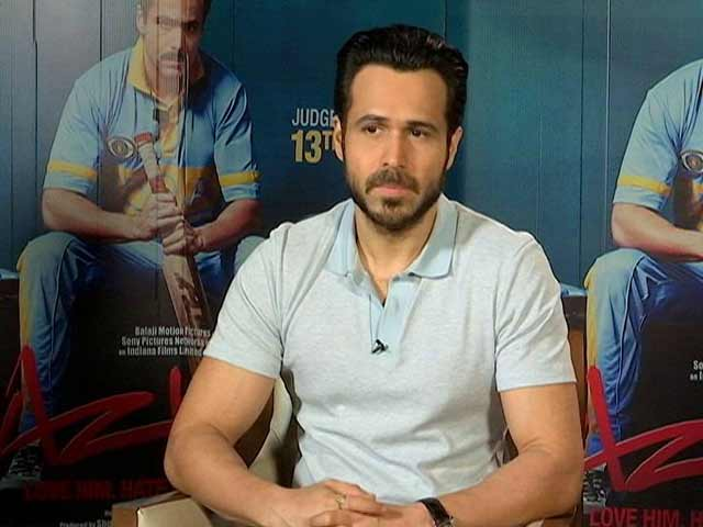 Video : Azharuddin Didn't Want Biopic to be Made Initially: Emraan Hashmi