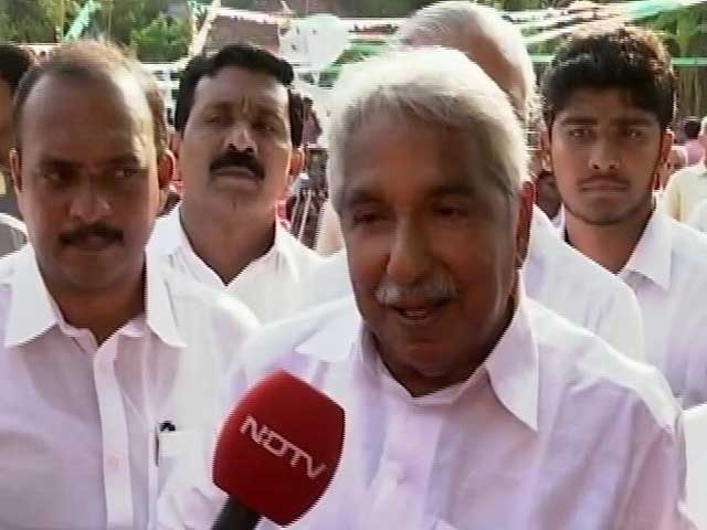 Video : Confident We Will Come Back, Says Chief Minister Oommen Chandy