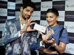 LeEco Star Power With Jacqueline and Siddharth
