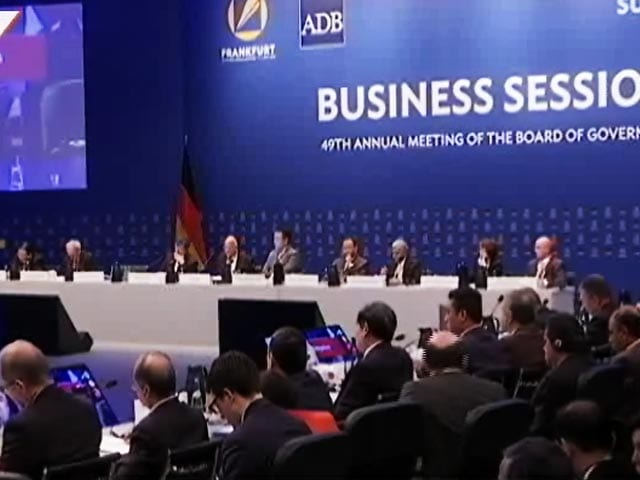 Video : Asian Development Bank's 49th Annual Meeting in Frankfurt
