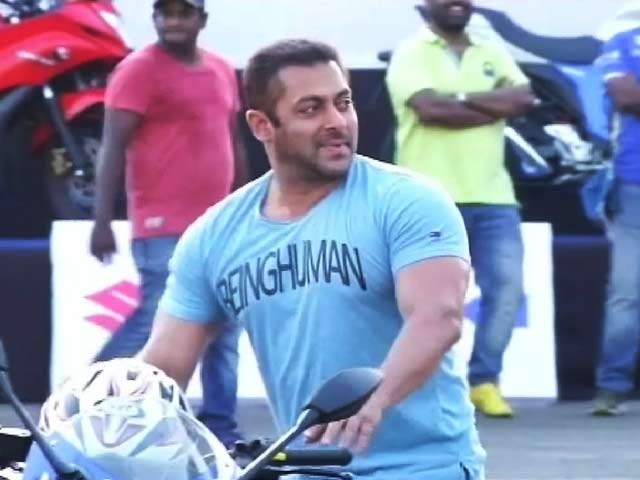 Video : Salman's <i>Dhoom</i>-Like Weekend