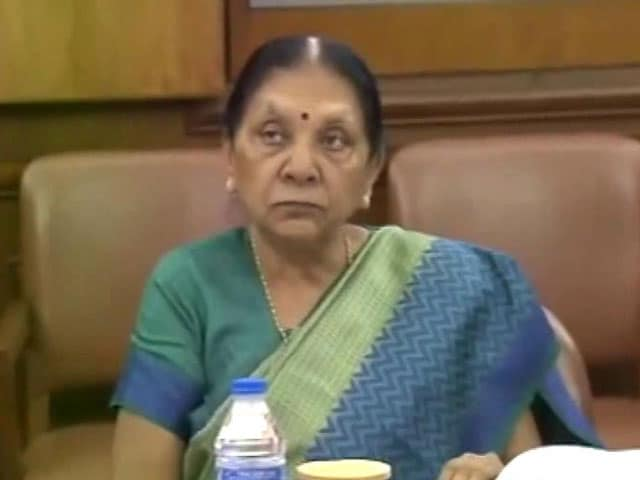 Video : Anandiben Patel, Ex-Gujarat Chief Minister Soon? BJP For Change, Say Sources