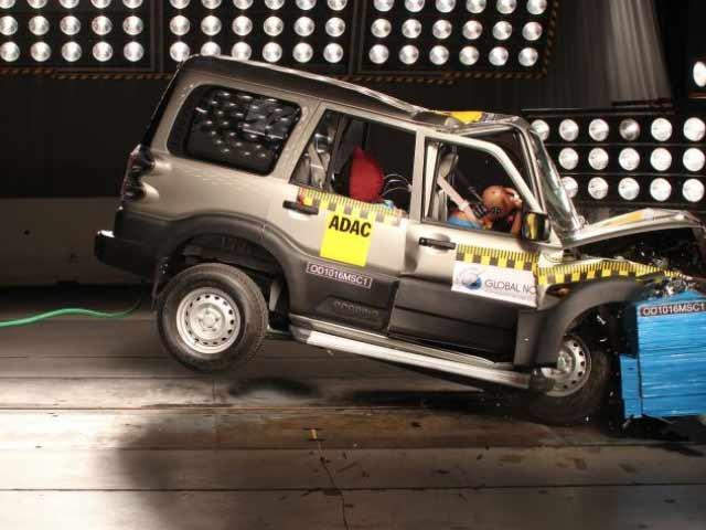Video : Popular Indian Cars, Including Scorpio, Fail Basic Crash Test