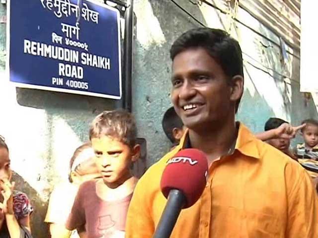 Video : In Mumbai, Streets 'Named' After Slum Children