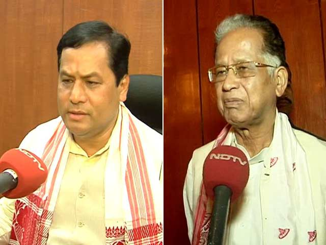 Video : In Assam, Sonowal Watched Bajirao Mastani, Gogoi Played Golf