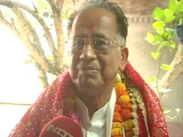 Video : Good Luck to BJP's Sonowal, Says Assam Chief Minister Gogoi