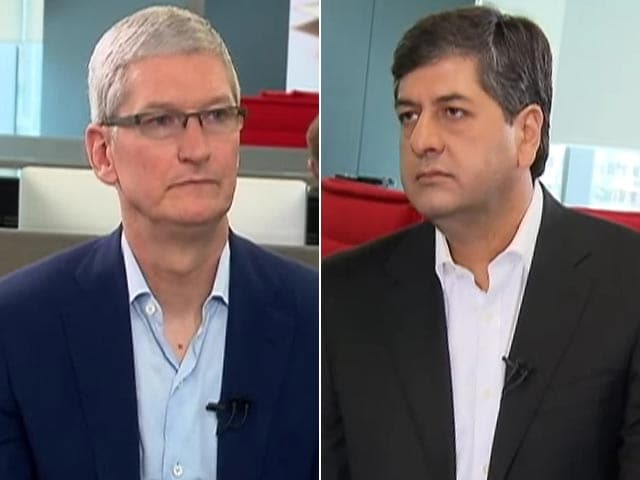 Video : Tim Cook to NDTV on Advice He Remembers From Steve Jobs