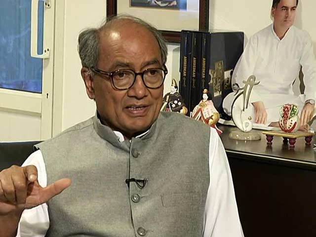 Video : Congress Needs To Move Ahead With The Times: Digvijaya Singh