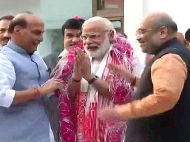 Video : BJP Set For An Overhaul For 2019, PM Modi's Next Big Focus To Be UP Polls