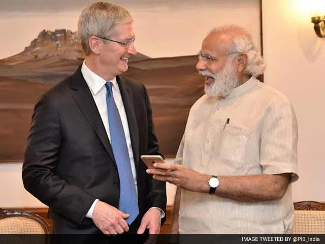 Video : PM Modi Meets Apple Chief Tim Cook, Launch Updated 'Modi App'