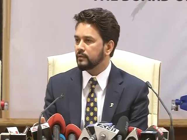 Video : BCCI Sees Opportunity in Lodha Panel Recommendations: Anurag Thakur