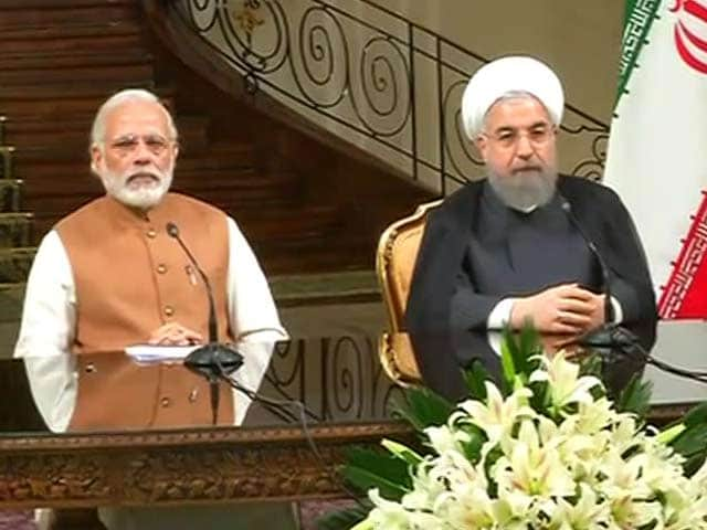 Video : PM Modi Talks 'Dosti' As India, Iran Sign Historic Chabahar Pact