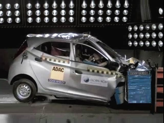 Video : 5 India-made Cars Fail Global NCAP Crash Tests