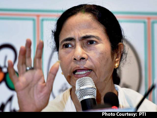 Video : Ban On NDTV Channel Shows Emergency-Like Attitude: Mamata Banerjee