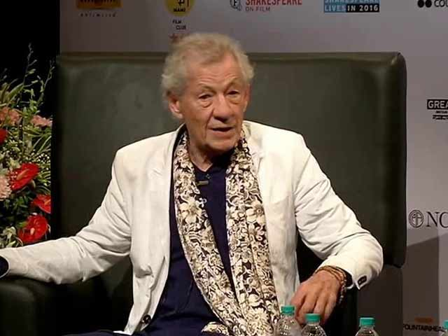 When Sir Ian McKellen Opened Up About His Inhibitions