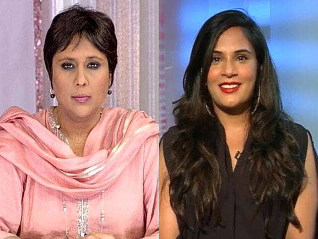 Video : Masaan Star Richa Chadha Shares Her Tough Fight With Bulimia