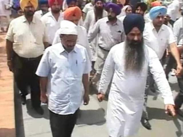 Videos : पंजाब में 'डेरा' जमाने की कोशिश में अरविंद केजरीवाल