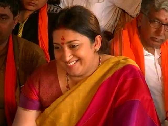 Video : Unlike Gandhis, BJP Doesn't Expect Bonds Of Servitude: Smriti Irani To NDTV