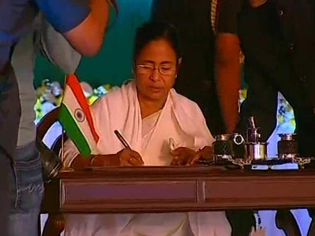 At Mamata Banerjee's Swearing-In, Chief Ministers And Stars