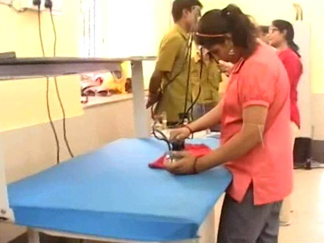 Video : A Kolkata Laundry Helps People With Special Needs Find Employment