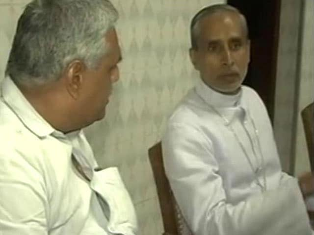 Video : Kerala Bishop Donates Kidney To Hindu Boy, Says Religion Not A Concern