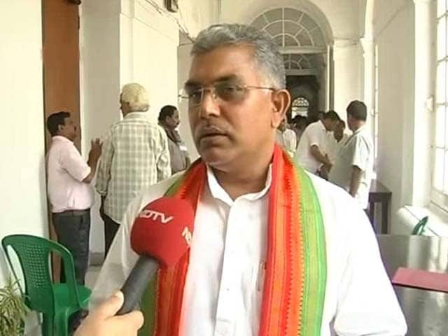 Video : An Eye For An Eye, Says Bengal BJP Chief Who Threatened Mamata's Party