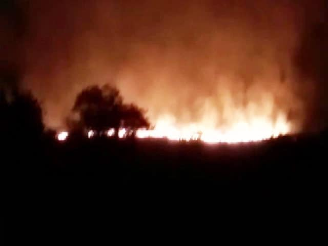 Video : 16 Dead In Fire At Pulgaon, Army's Largest Ammunition Depot In India