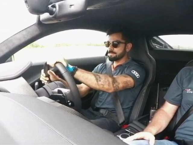 Video : Audi R8 V10 Plus with Virat Kohli