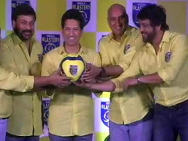 Video : Sachin Tendulkar Gets Stars to Back His ISL Team, Kerala Blasters