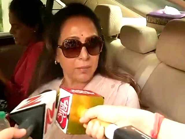 Video : After Row Over Pics, Hema Malini, Mathura MP, Says 'How Could I Predict Clashes?'