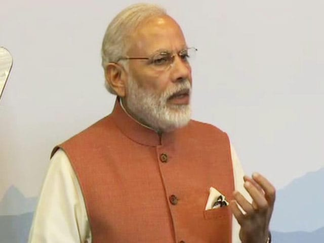 Video : Combating Menace Of 'Black Money' Our Shared Priority, Says PM Modi
