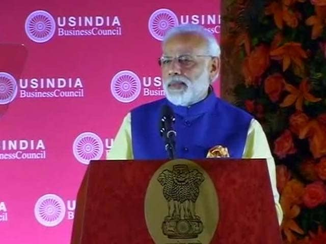 Video : PM Modi Assures Top US CEOs Of 'Ease of Doing Business' In India