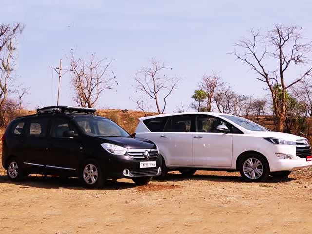 Toyota Innova Crysta vs Renault Lodgy: Comparison Review Video