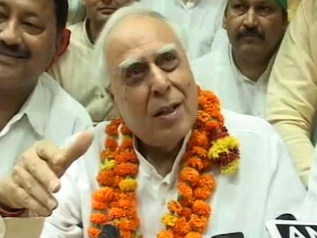 Video : BJP Gains In Rajya Sabha Elections, Kapil Sibal Wins From UP