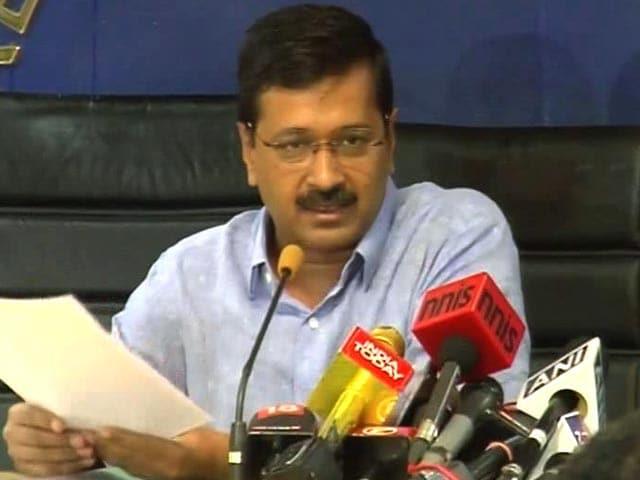 Video : 'I Beg You, Target Me But Not Delhi': Kejriwal Attacks PM Modi Again