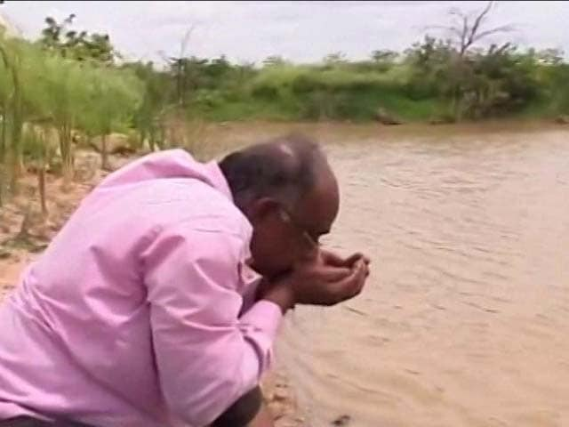 Video : One Man's Crusade To Not Let Rain Water Go To Waste