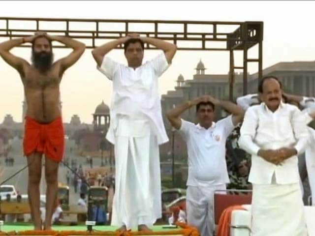 Video : Here's How Much The Government Is Spending On Yoga Day