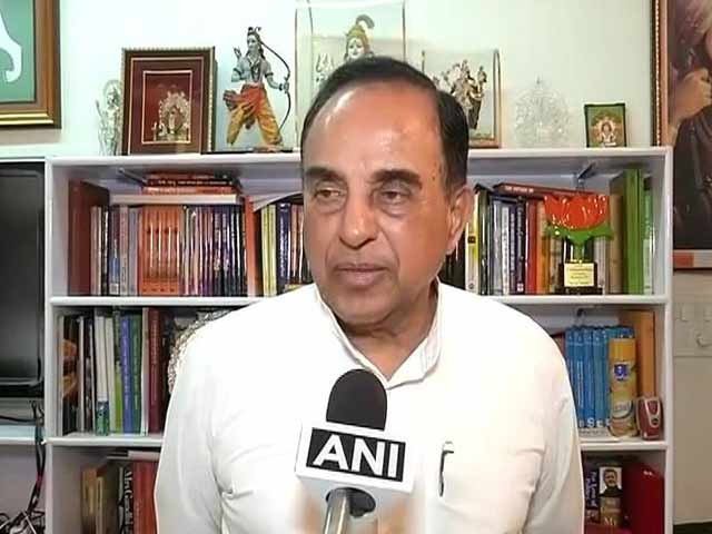 Video : After Rexit, Subramanian Swamy Targets Chief Economic Adviser Arvind Subramanian