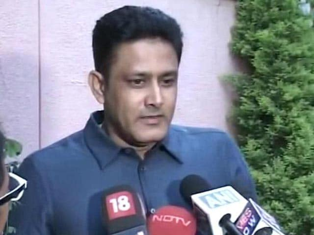 Video : Great to Be Back in Indian Dressing Room: Anil Kumble