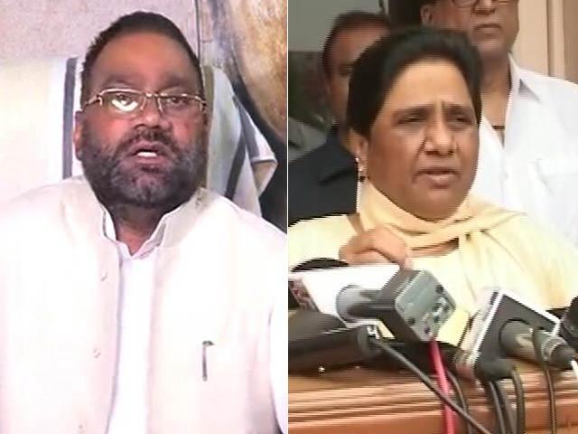 Video : Mayawati Is 'Scared', Says Swami Prasad Maurya After Her 'Traitor' Remark