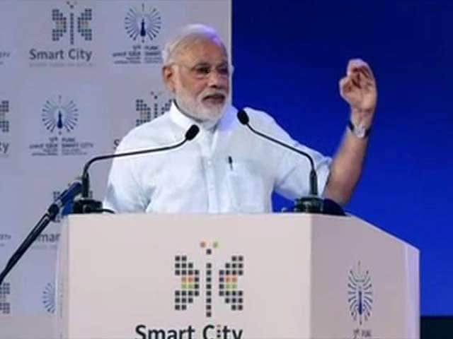 Video : Prime Minister Narendra Modi Launches Smart City Projects In Pune