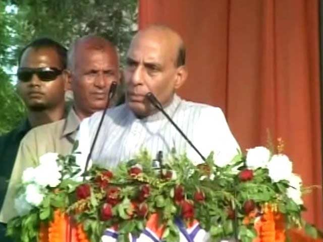 Video : Won't Count Bullets If Pakistan Fires First: Rajnath Singh After Pampore Attack