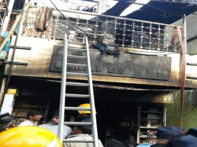 Video : 5 Children Among 9 Dead In Fire At Building In Mumbai's Andheri
