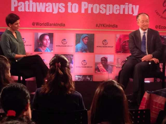 Video : Brexit Uncertainty Not Good But India Doing Well: World Bank's Kim To NDTV