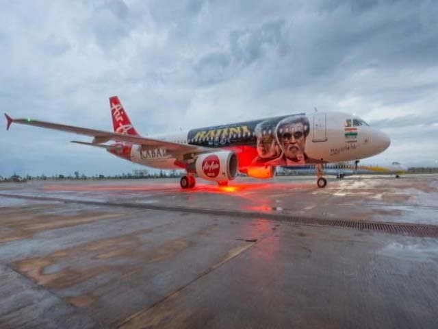 Video : This Kabali-Special Plane Will Take Off With Rajinikanth's Film
