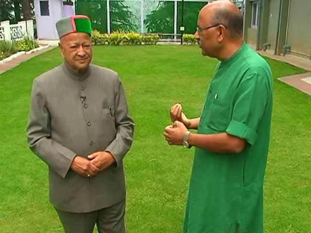 Video : Time For Rahul Gandhi To Take Full Charge: Virbhadra Singh