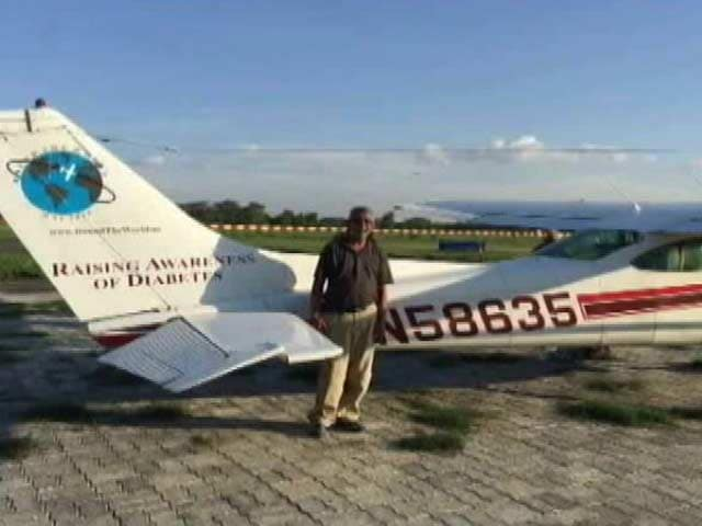 Video : Professor From Ranchi Flew His Aircraft Back From US. All For A Promise