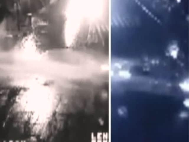 Video : फुटेज में देखिए, कैसे BMW कार ने तेज रफ्तार से ऑटो रिक्शा को मारी टक्कर