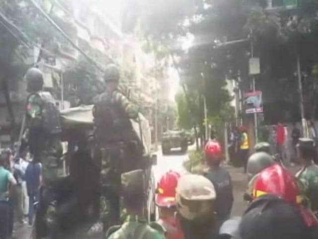 Video : Deafening Gunfire, Video From Dhaka Gives A Glimpse Of Siege